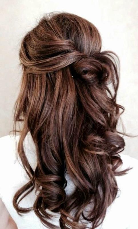 Photos de coiffure sur cheveux long