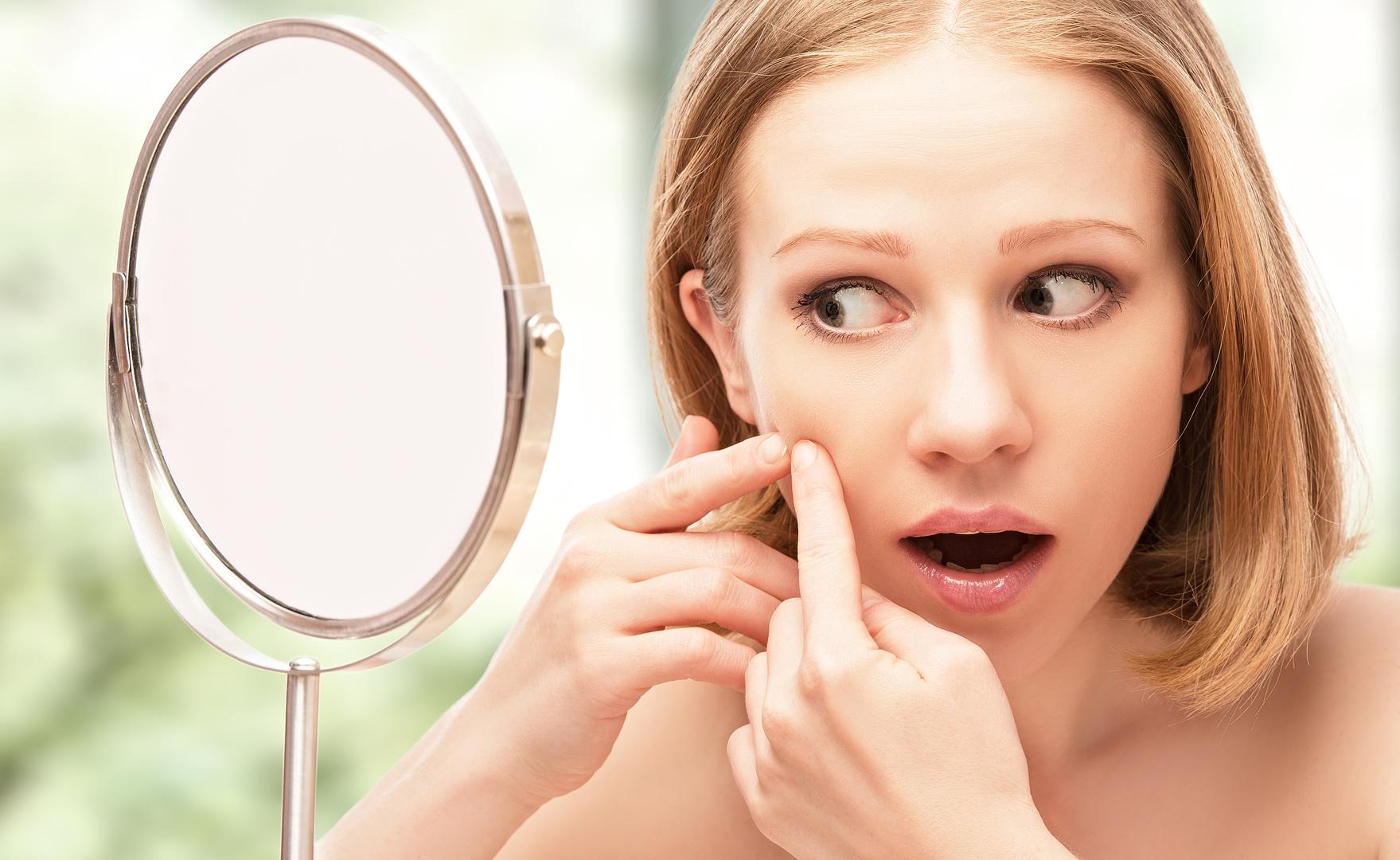 Peau seche acné