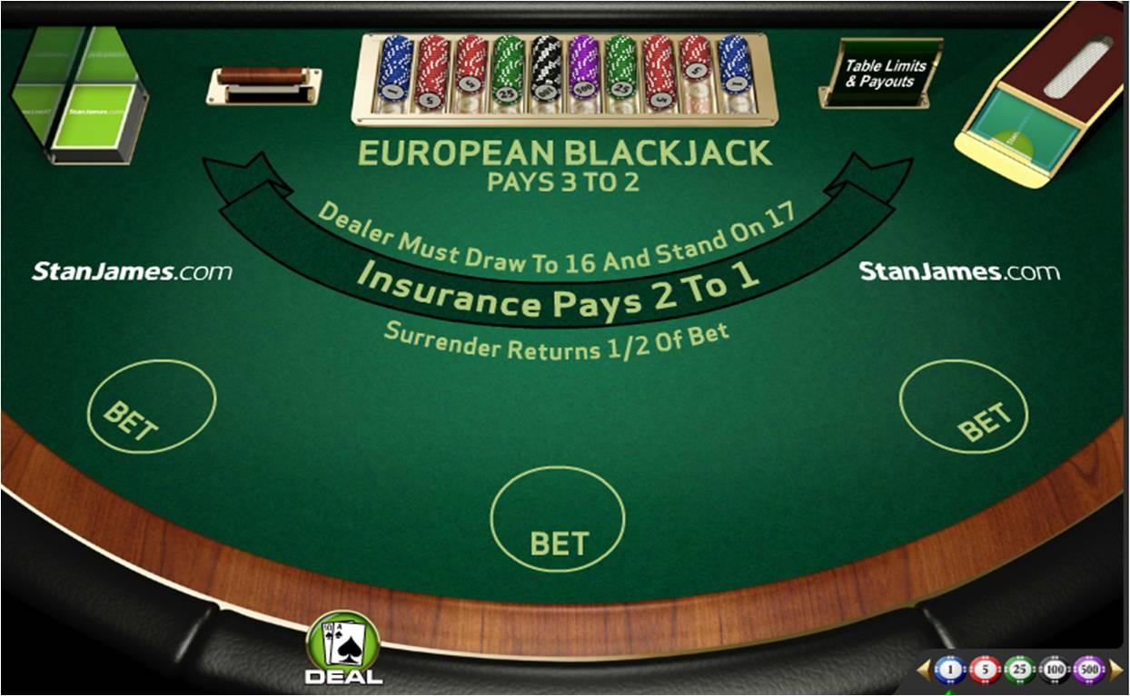 Blackjack compter les cartes en ligne