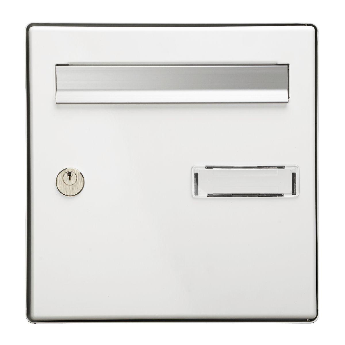 Plaque boite aux lettres : un objet respectant les normes