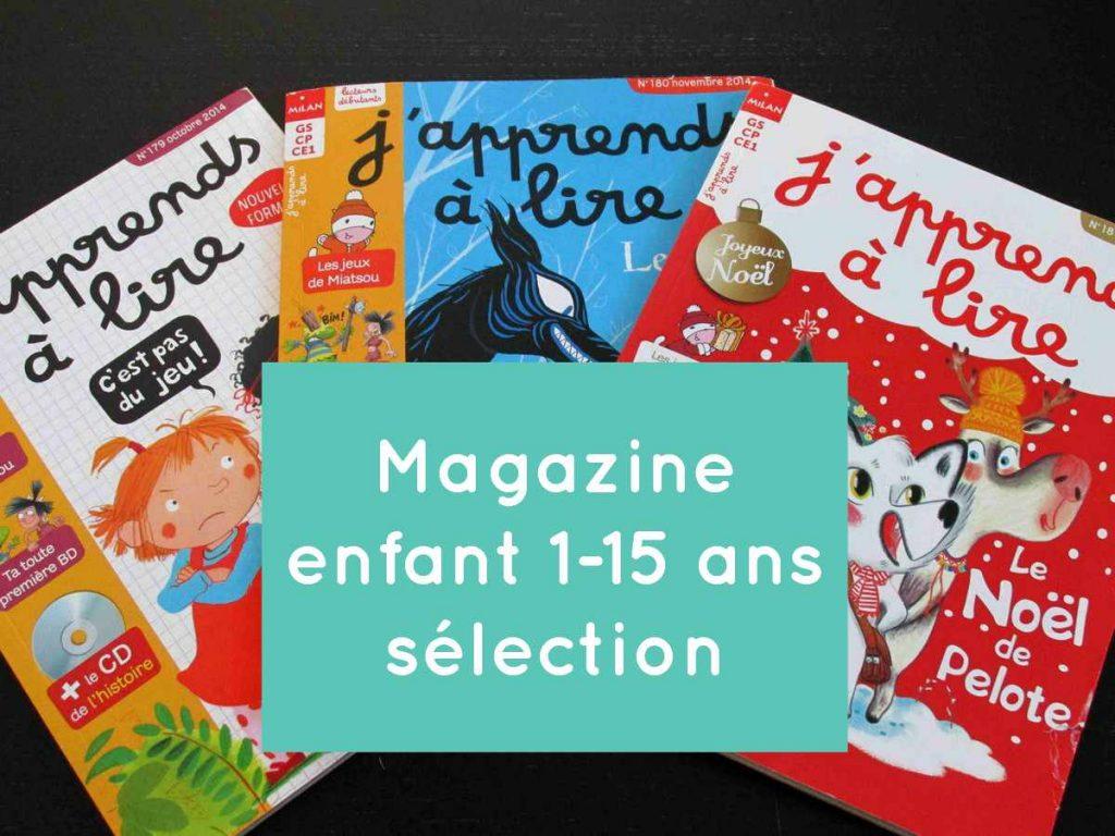 Magazine pour tout-petits : un bon moyen pour leur faire aimer la lecture