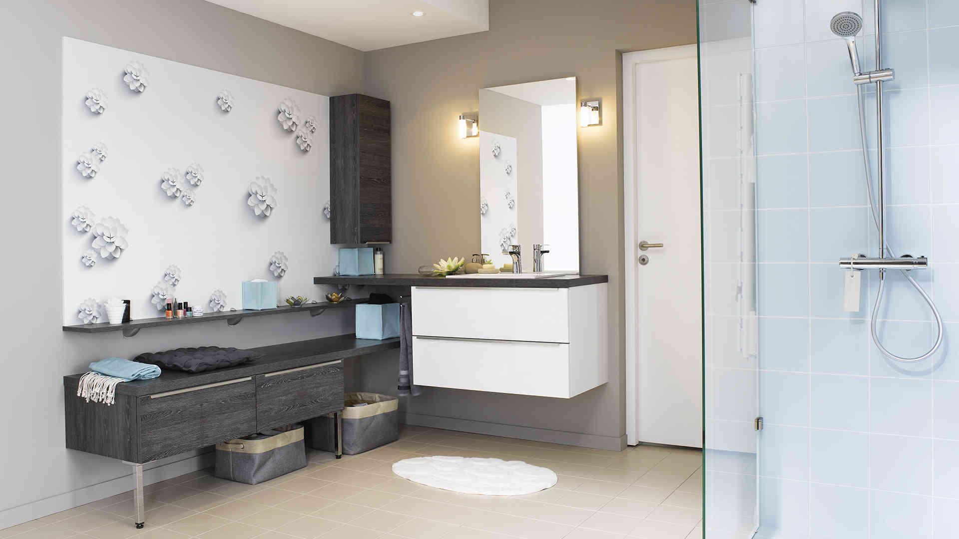 Comment agencer une petite salle de bain - Agencer une petite salle de bain ...